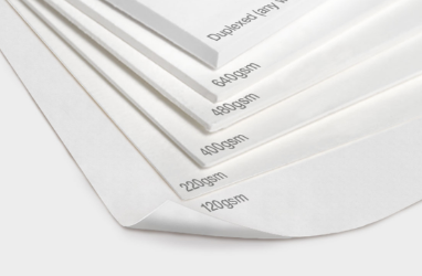 Card or Paper? The best choice for your leaflet…